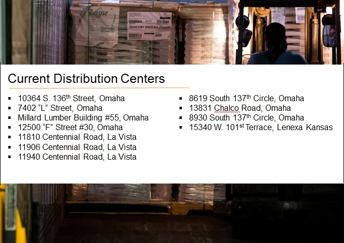 Ford Storage Warehouse Locations In Omaha And Kansas City